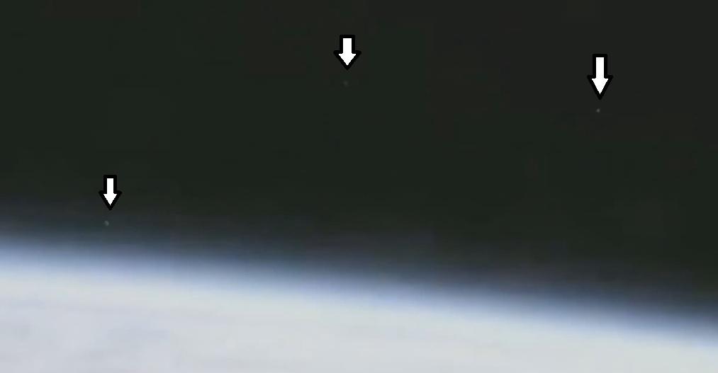 видео НЛО с камеры МКС