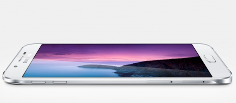 Samsung представил самый тонкий смартфон Galaxy A8