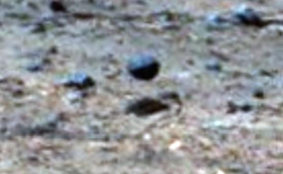 парящая сфера на Марсе июль 2015 года
