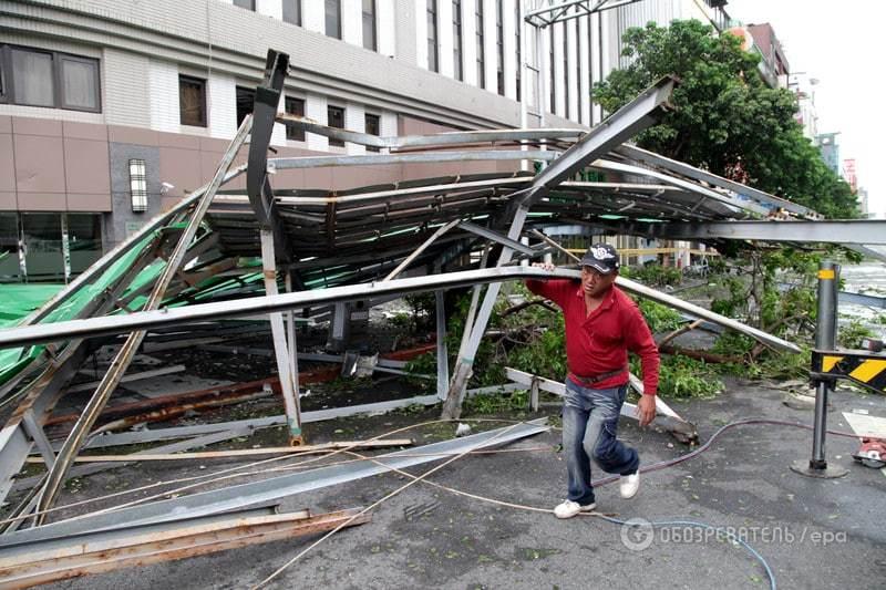 Тайфун Soudelor. Фото Обозреватель