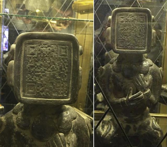 На лице древней статуи Майя обнаружен код