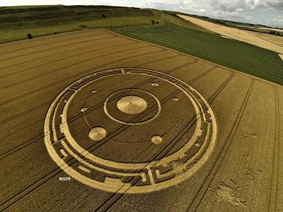 Круги на полях Дорсета — это инопланетная тайна