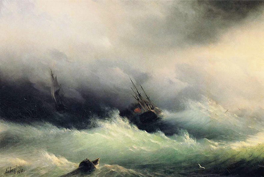 mesmerizing-translucent-waves-19th-century-painting-ivan-konstantinovich-aivazovsky-2