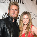 NEW YORK, NY - JUNE 13:  Chad Kroeger (L) and Avril Lavigne attend the Songwriters Hall of Fame 44th Annual Induction and Awards Dinner at the New York Marriott Marquis on June 13, 2013 in New York City.  (Photo by Theo Wargo/Getty Images for Songwriters Hall Of Fame)