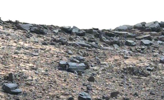 НАСА предоставили фото необычного транспортного средства на Марсе