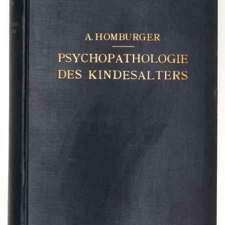 Купить Homburger A. Psychopatologie des Kindesalters