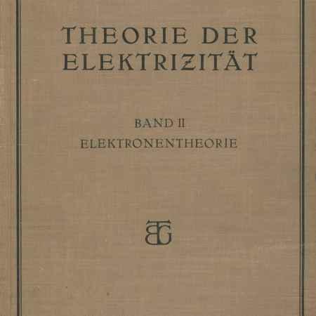 Купить R. Becker Theorie der elektrizitat: Band 2: Elektronentheorie