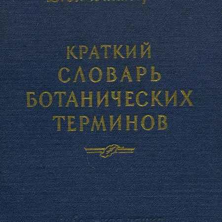 Купить Д. П. Викторов Краткий словарь ботанических терминов
