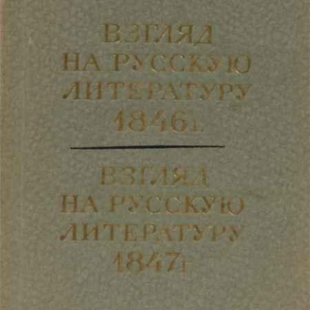 Купить В. Г. Белинский Взгляд на русскую литературу 1846 г. Взгляд на русскую литературу 1847 г.