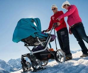 Как выбрать коляску для новорожденного зимой