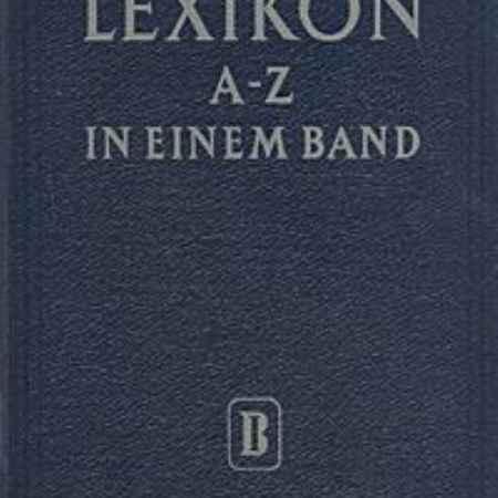 Купить Lexikon A - Z in einem band