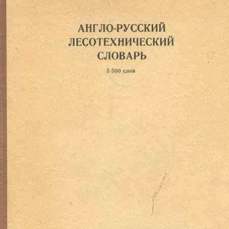 Купить Англо-русский лесотехнический словарь