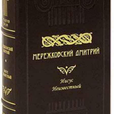 Купить Дмитрий Мережковский Иисус Неизвестный (подарочное издание)