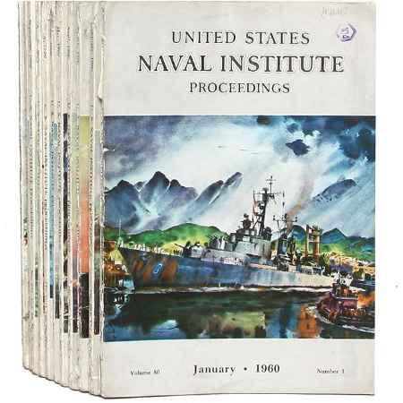 Купить United States Naval Institute Proceedings (комплект из 11 журналов)