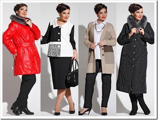 Одежда для женщин с объемными формами