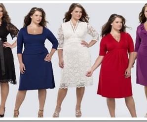 Правила выбора одежды для крупных женщин