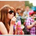 Пускать мыльные пузыри