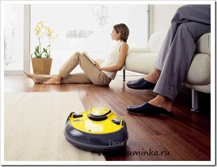 Использование роботов-пылесосов в быту