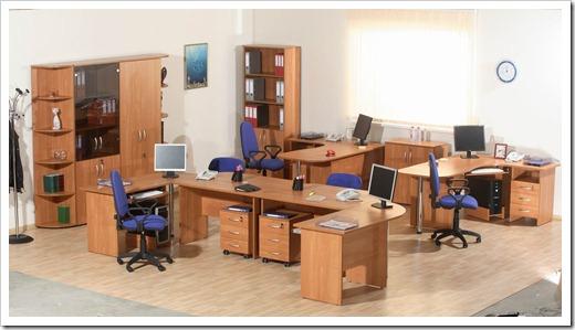 Цветовая палитра офисной мебели