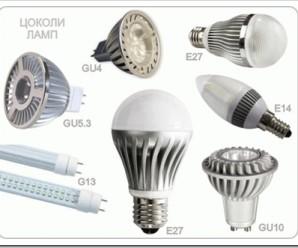 Классификация светодиодного осветительного оборудования