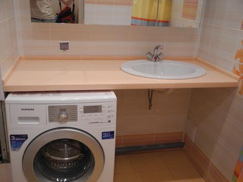 Преимущества раковины над стиральной машинкой