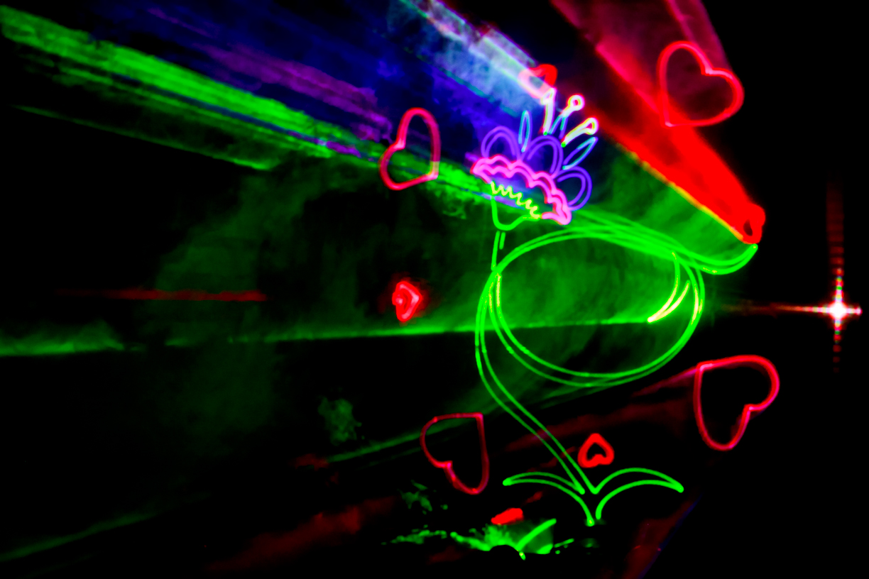 Что такое лазерное шоу