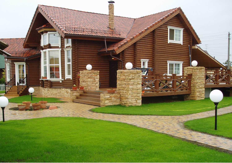 Особенности домов из бруса