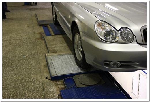 Диагностирование подвески автомобиля при помощи акустики