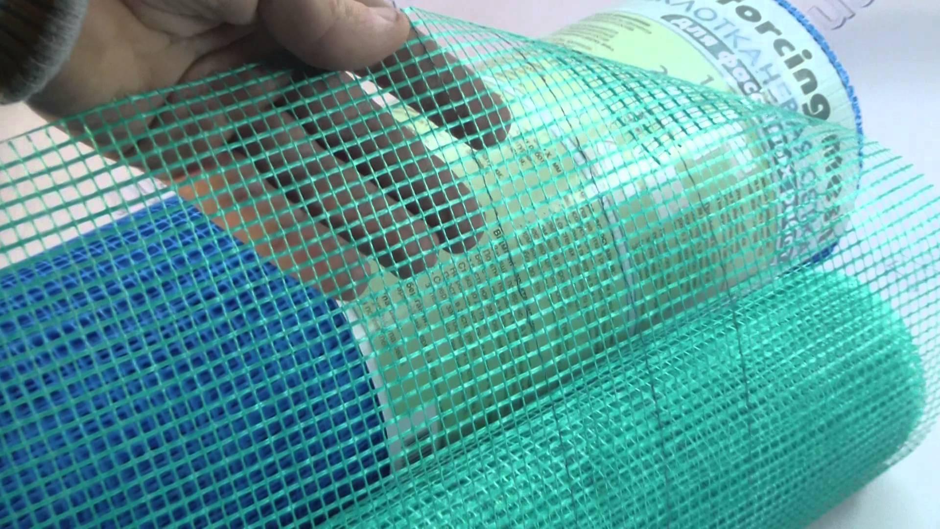 Штукатурная сетка: особенности и применение