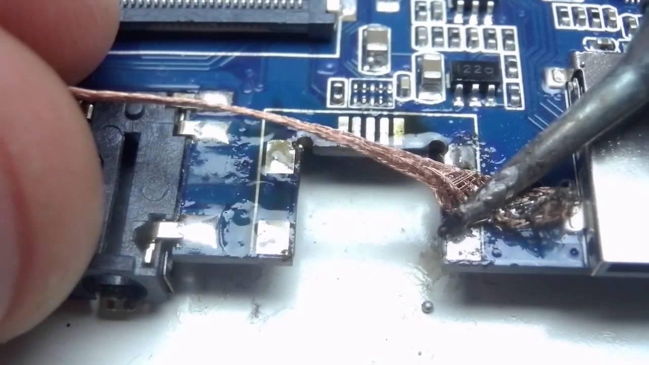 Локальный ремонт планшета - что это