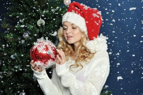новогоднее фото
