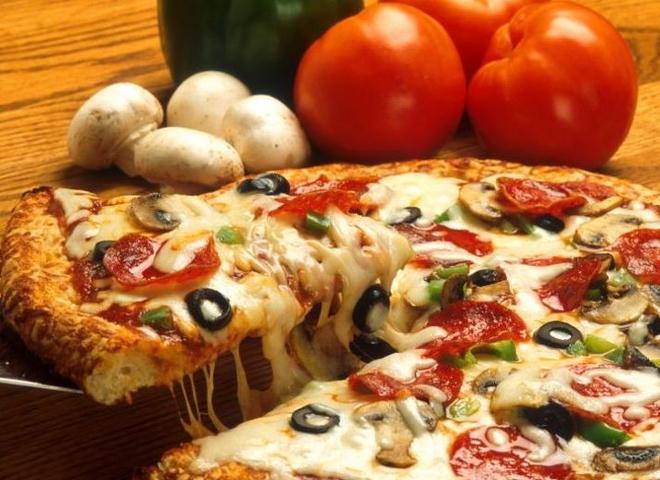 Пицца за 15 минут на сковородке