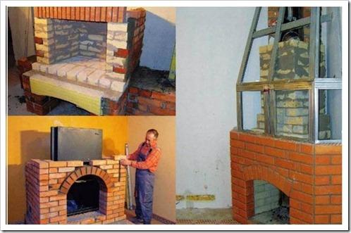 Построить печку своими руками для дома