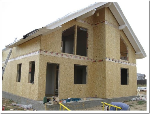 Cтроительство дома из сип-панелей