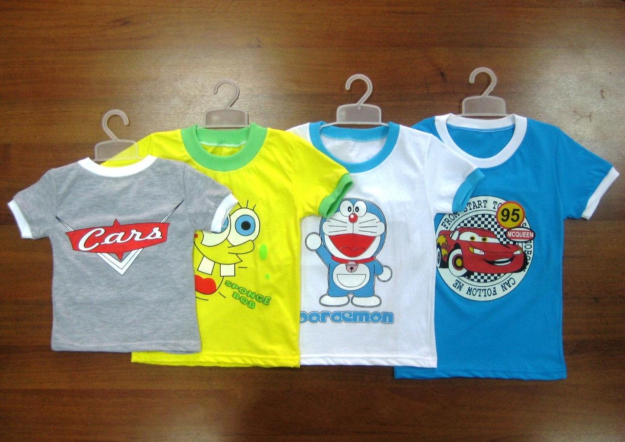 Преимущества детских футболок из трикотажа