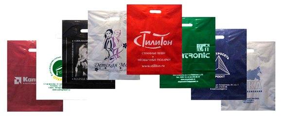 Как изготовить полиэтиленовый пакет с логотипом