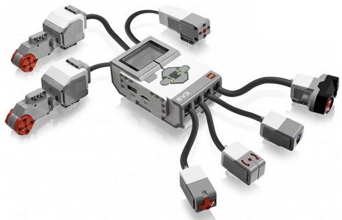 Как программировать лего mindstorms ev3