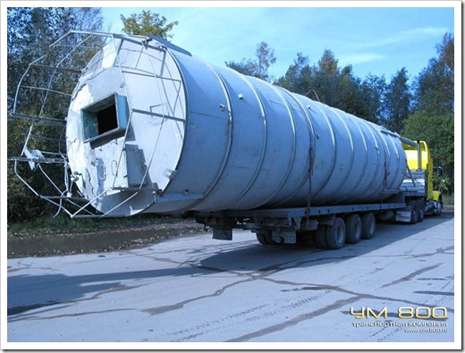 Сопровождение ДПС при перевозке длинномерного груза