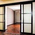 Монтаж раздвижных межкомнатных дверей