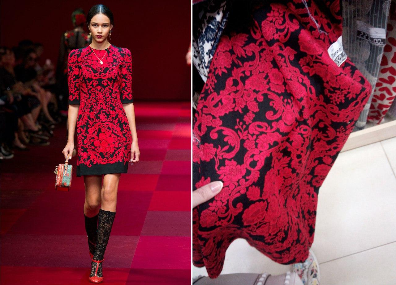 Изготовление трикотажного платья