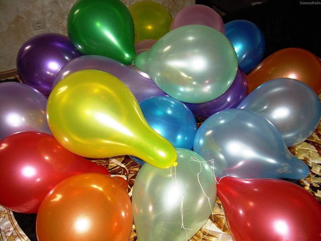 Чем надувают воздушные шары
