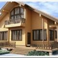 Положительные стороны домов из натурального бруса