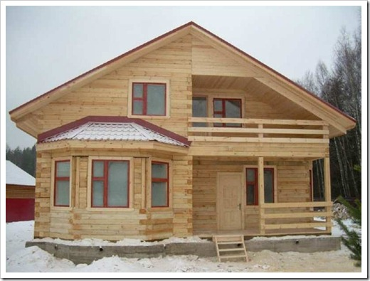 Каркасное строительство – свайный фундамент