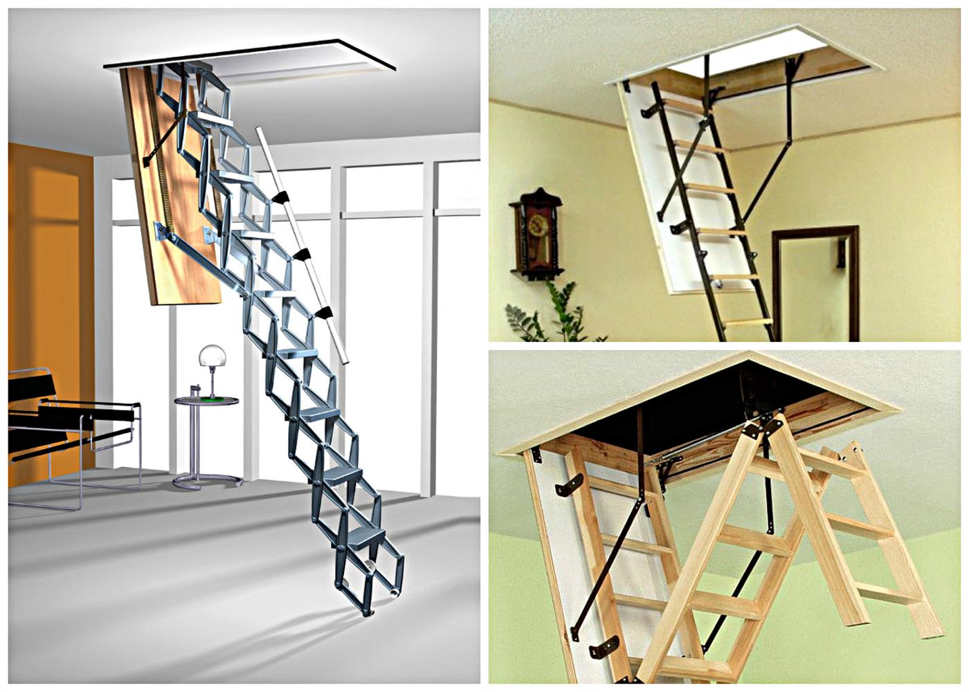 Лестница раскладная на чердак своими руками - делаем пошагово 5