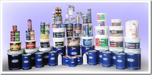 Использование лакокрасочных материалов для косметического ремонта помещений