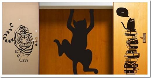 Украшение межкомнатных дверей своими руками