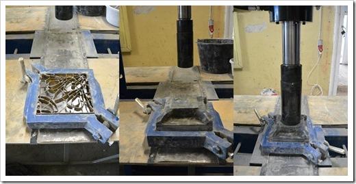 Процесс производства цементной плитки