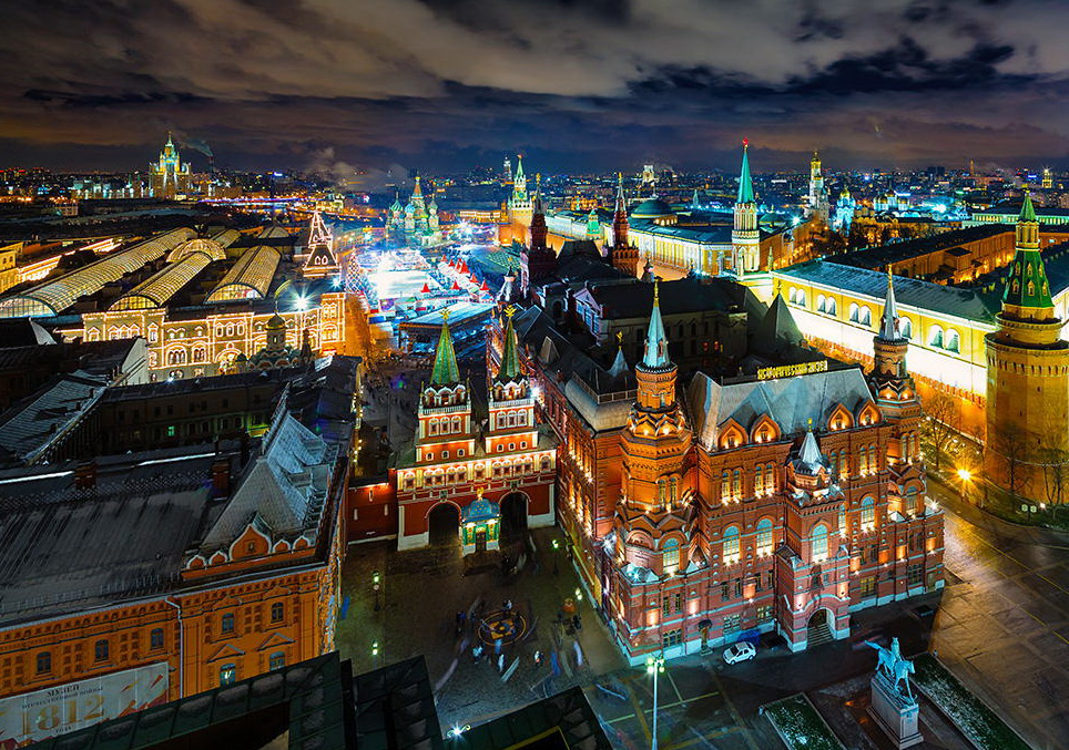 Какие достопримечательности находятся в Москве