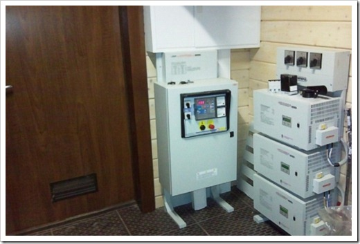 Установка стабилизатора на вход сети электроснабжения