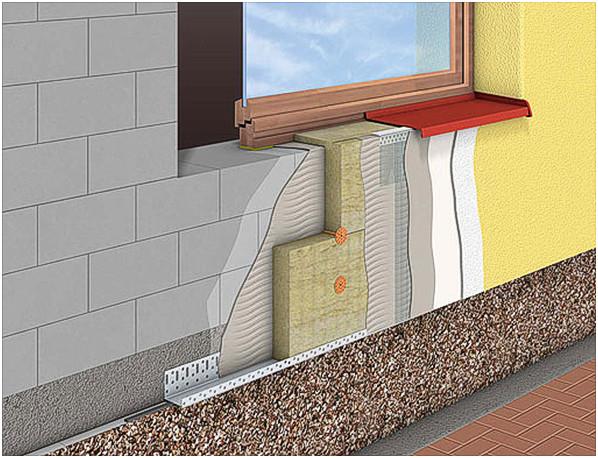 Как утеплить фасад